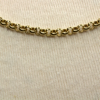 9ct gold 21 inch / 53 cm belcher Chain